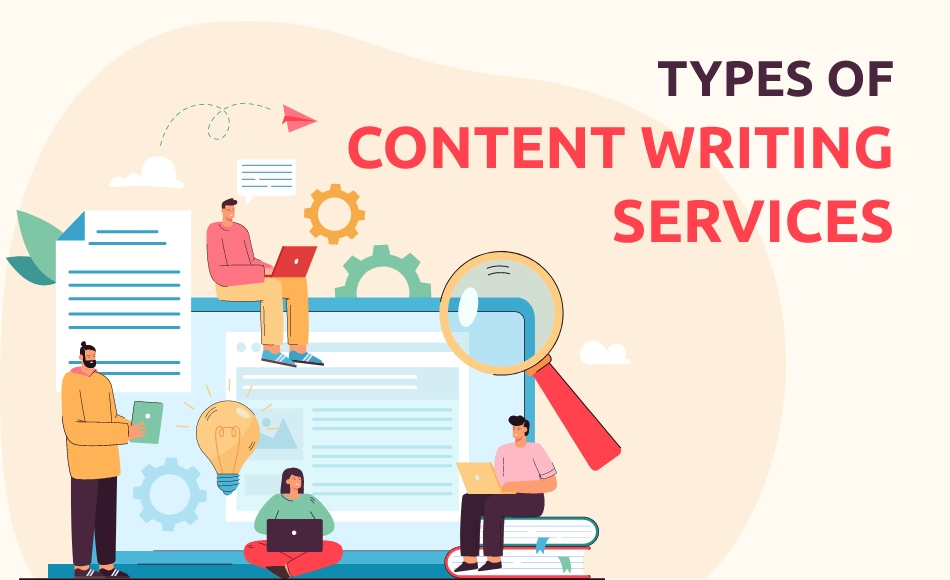 Six Different Types of Content Writing Services in India